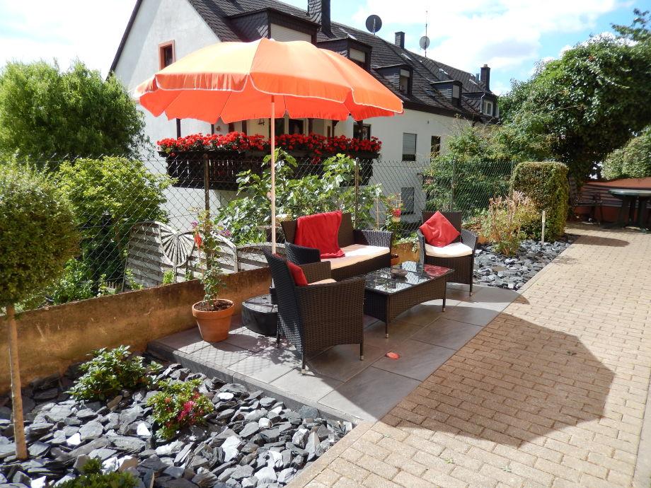 Garten mit Sitzlounge