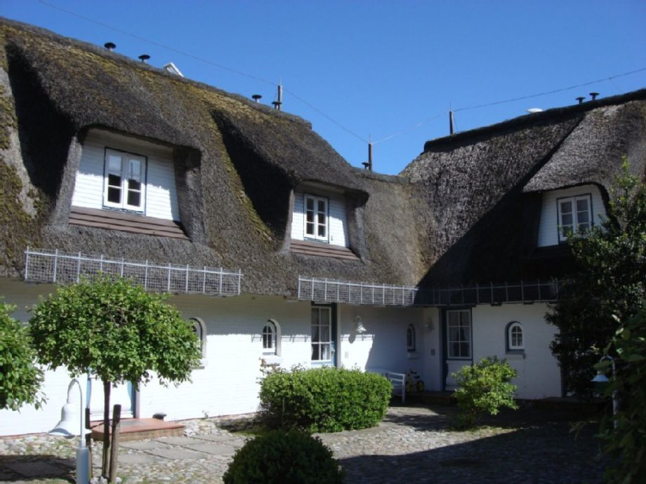 Appartement Düne - Innenhof