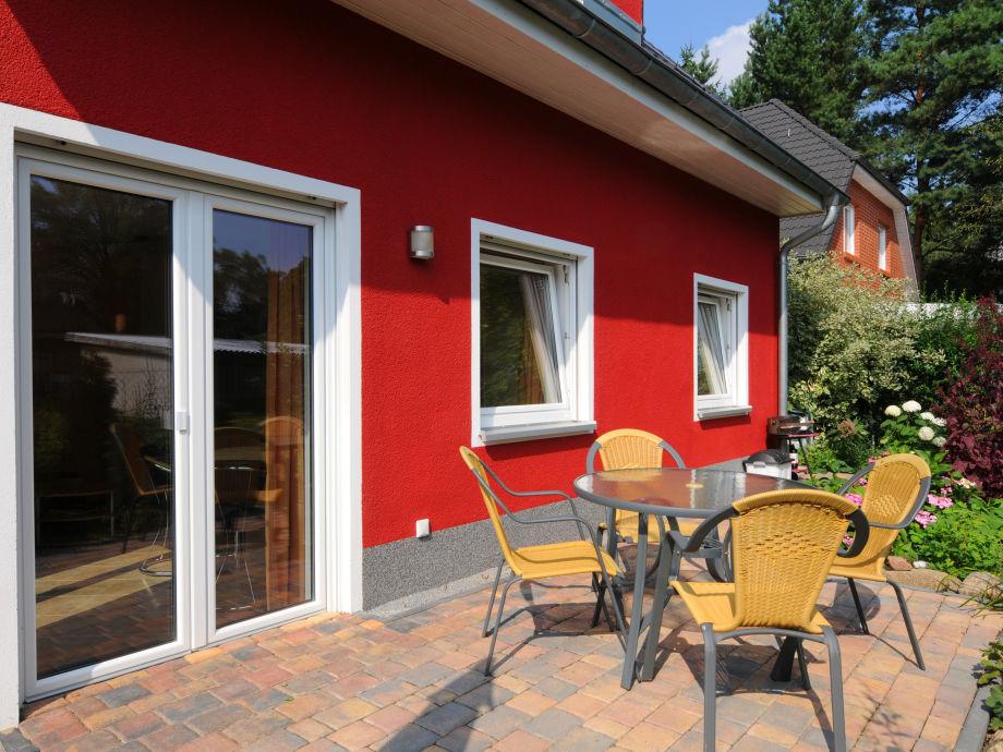 Separate Terrasse im Erdgeschoss