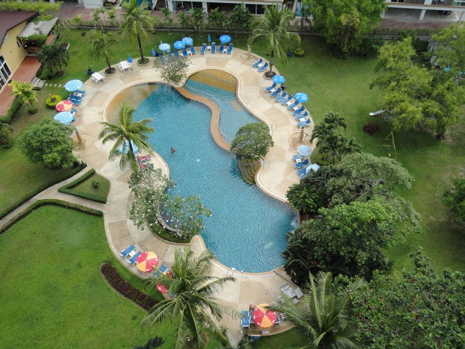Swimming pool / tropic garden