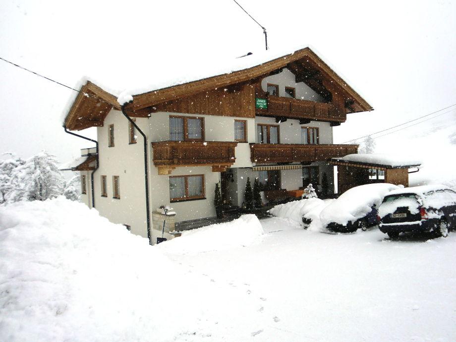 Haus Bild Winter