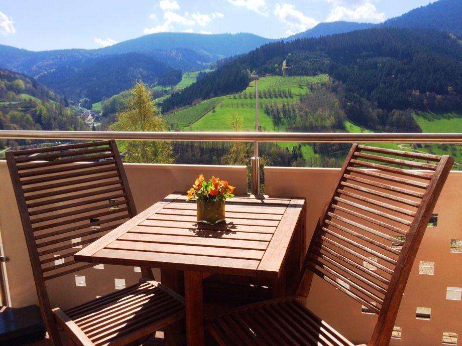 Balkon mit Terrassen-Zugang