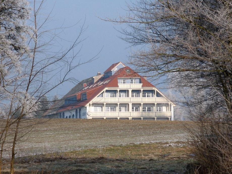 Der Landhof im Winter