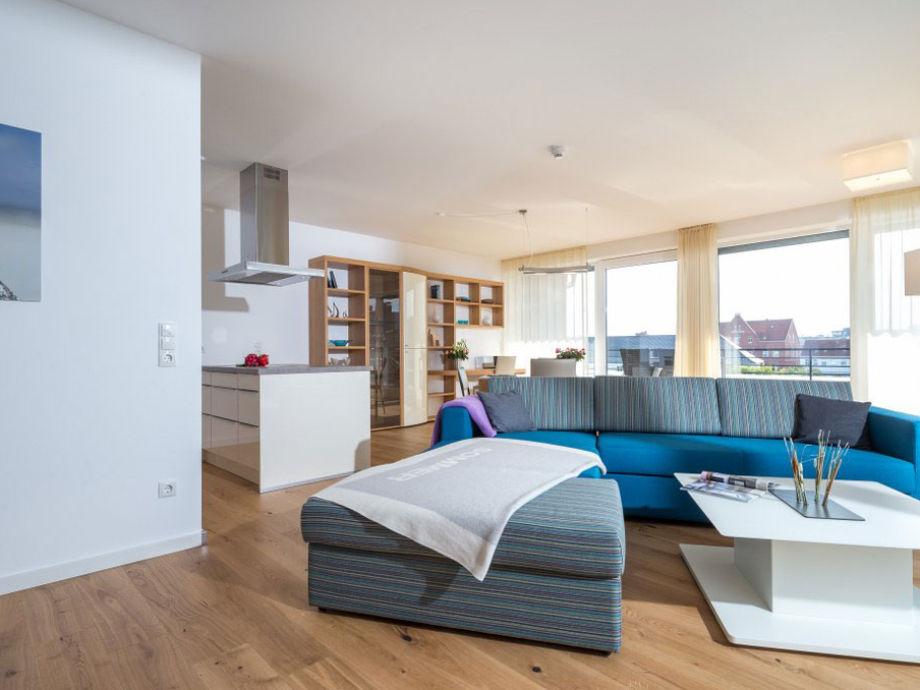 Ausstattung Wohnart Norderney - Penthouse Wohnakzente
