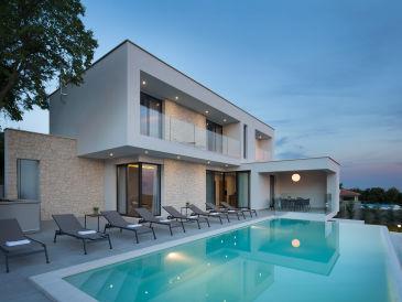 Traum schlafzimmer mit pool  Ferienhäuser & Ferienwohnungen mit Meerblick in Istrien ...