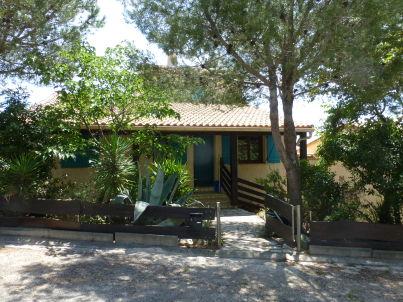 in der Villa bleu
