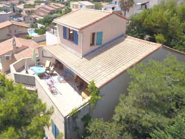 Ferienwohnung in der Villa bleu