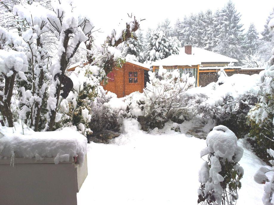 Blick aus der FeWo im Winter