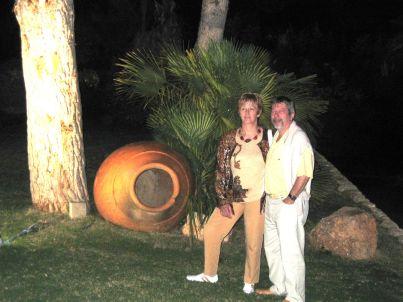 Ihr Gastgeber Maria und Werner Wolf
