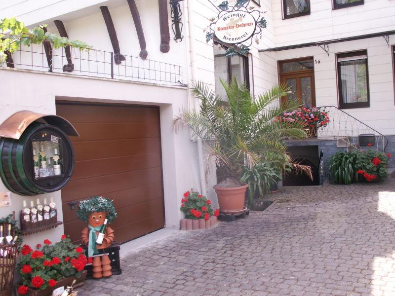 Ferienwohnung im Weingut Konzen-Dehren