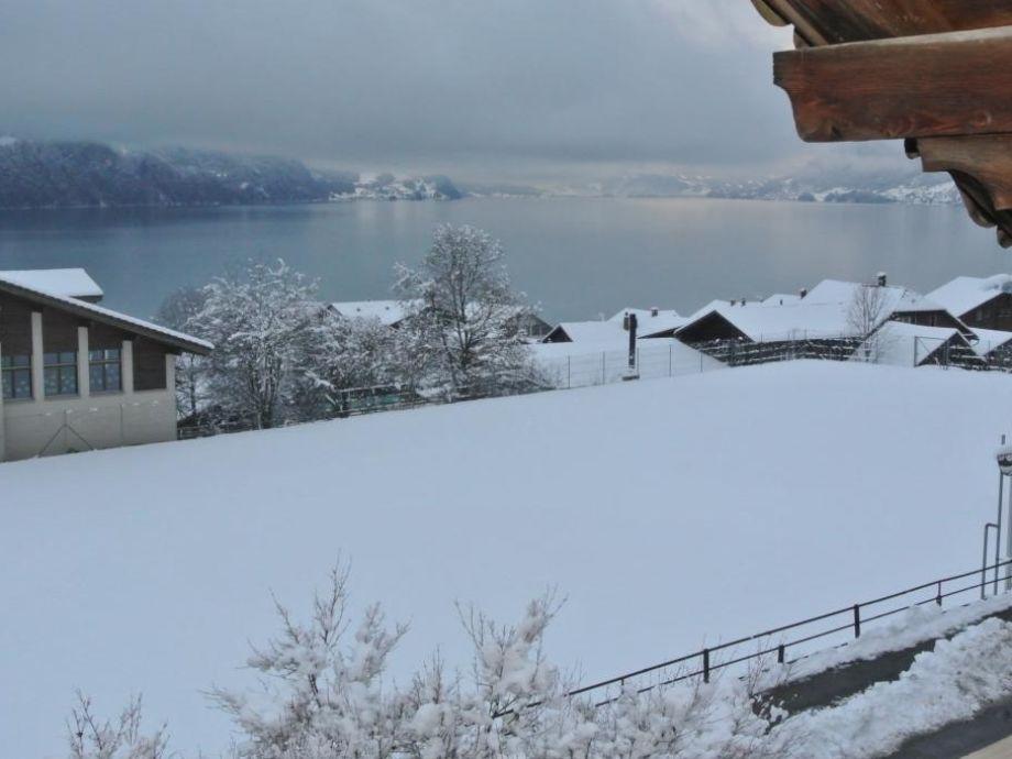 27. Dezember 2014, Ausblick aus dem Balkon
