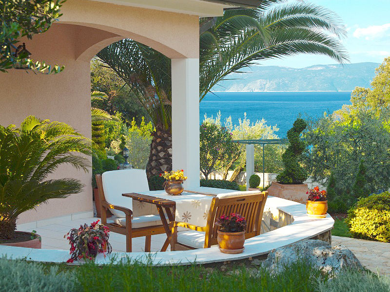 Villa Dusati Apartment Maria mit Swimmingpool