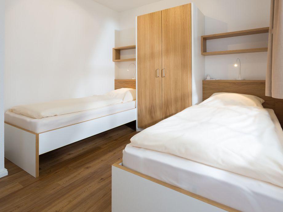 Ferienwohnung bogenhuus oben norderney ostfriesische for Moderne einzelbetten