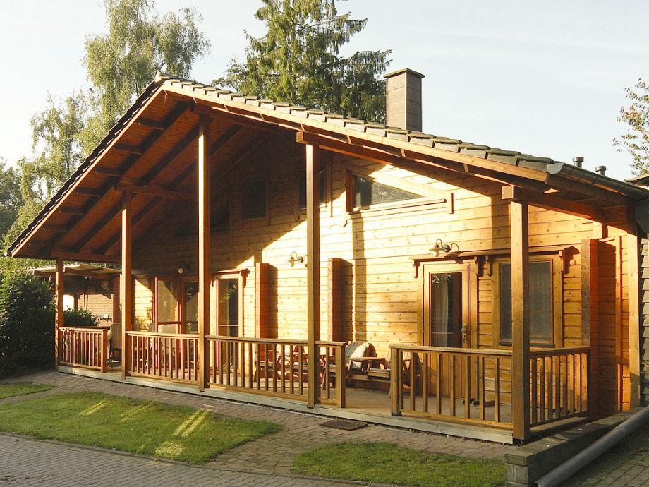 Das Ranch-Blockhaus