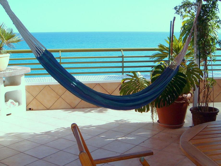 Rocafel, Alicante, Terrasse mit Meerblick