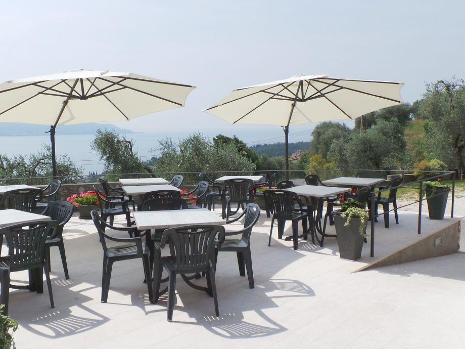 Terrasse von Nicolettas Restaurant