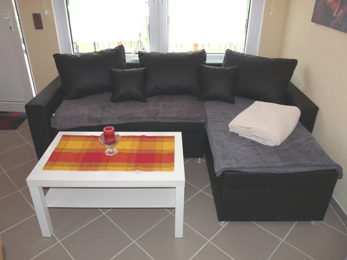 Ferienhaus in plau am see mecklenburg vorpommern plau am for Couch wohnzimmer