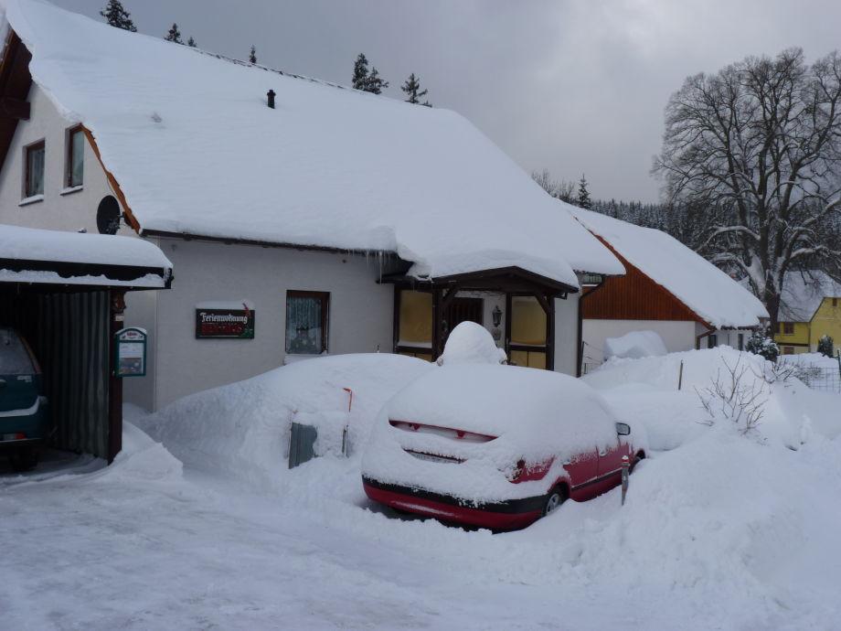 Winter im Nationalpark Hochharz