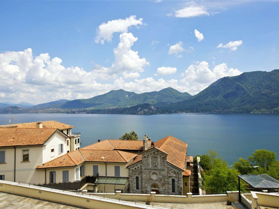 Traumhafter Sicht auf den Lago Maggiore