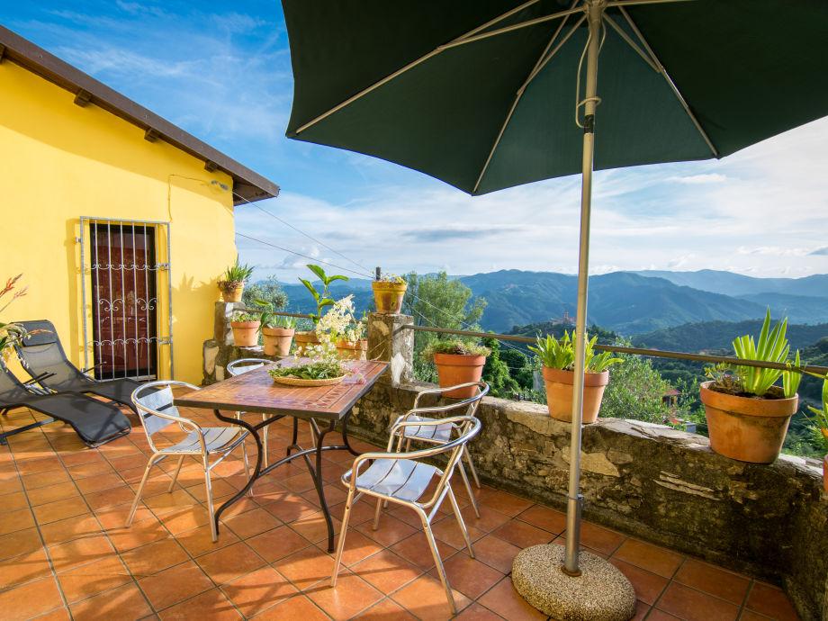 Villa Oliveto mit traumhafter Terrasse und Ausblick