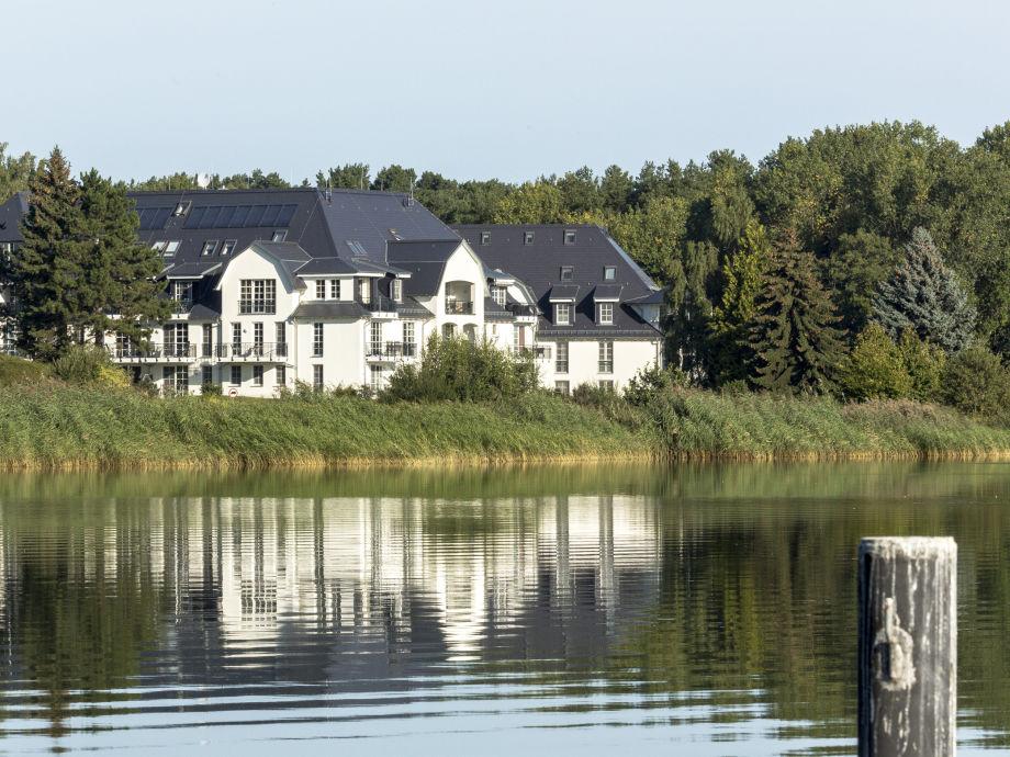 Blick auf die Residenz am Balmer See