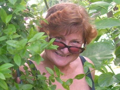 Your host Doris Schwiesow