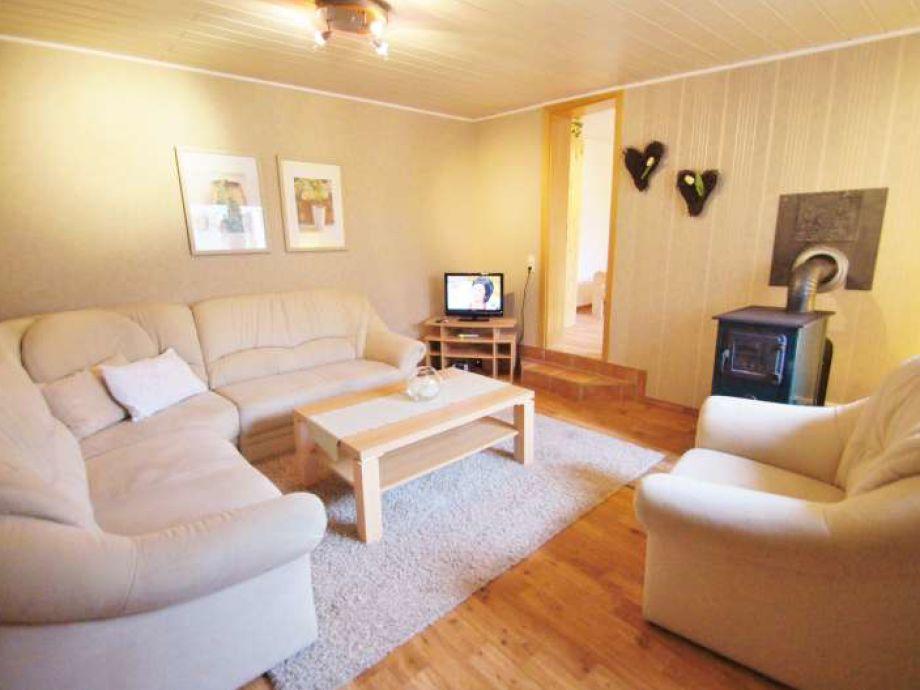 Gemütliches Wohnzimmer mit Ofen...