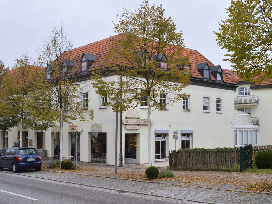 Außenansicht H&P Residenz Schlossgalerie
