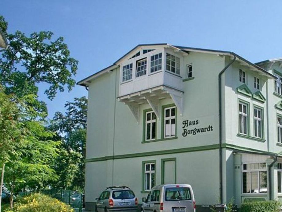 Außenaufnahme Haus Borgwardt - Parterre