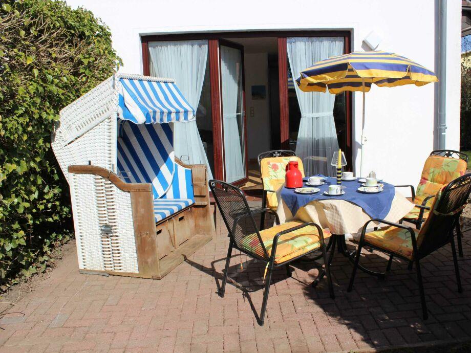 Außenaufnahme Albatros Haus Rügensonne