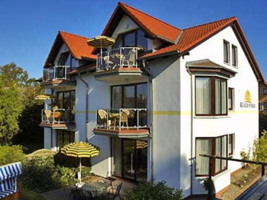 Außenaufnahme Seestern Haus Rügensonne
