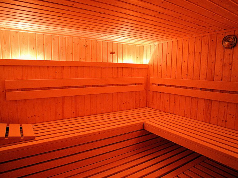 Sauna für 6 - 8 Personen