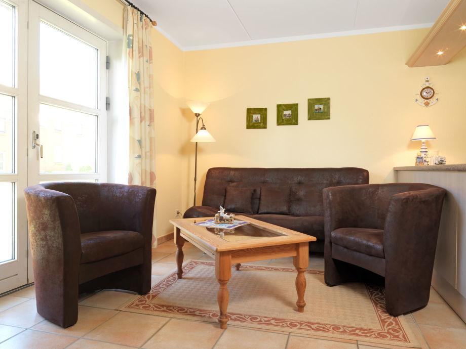 Das Appartement Inselnest empfängt Sie zentral, aber dennoch ruhig gelegen.