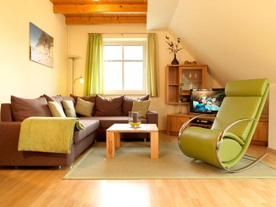 Das kuschelige Ambiente bietet Ihnen genau den richtigen Rahmen für einen relaxten Urlaub.