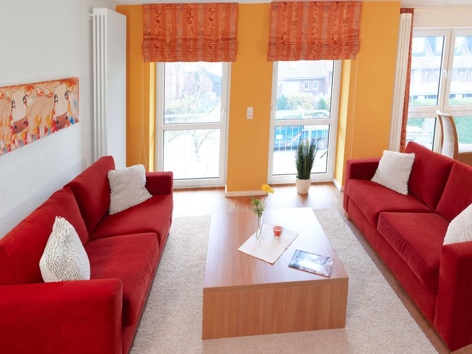 Die stilvoll - elegante Suite bietet viel Raum für Ihre Erholung zu jeder Jahreszeit.