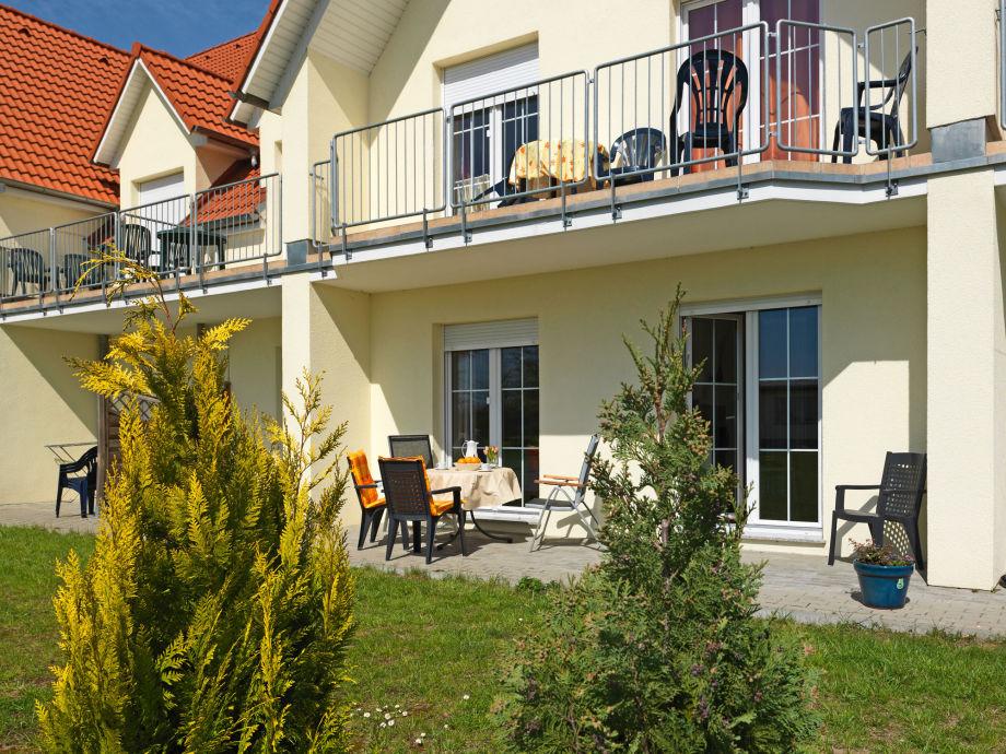 Auf  Ihrer Terrasse erleben Sie maximalen Poeler Sonnengenuss.