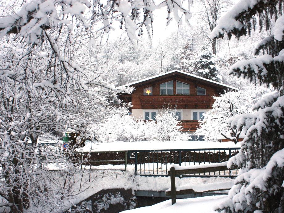 """Ferienwohnung im Haus Steger """"Winteraufnahme"""""""