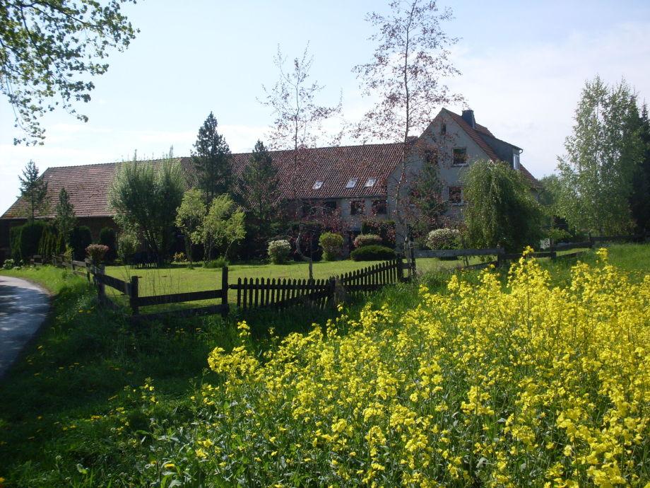 Das Haus und ein Teil des Gästegartens