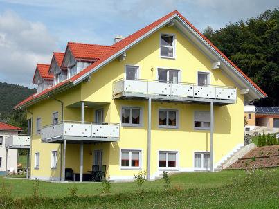 Waldblick im Ferienhaus am Johannesbühl