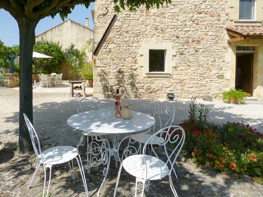 Garten Provence ferienhaus mit pool außerhalb roussillon in der provence
