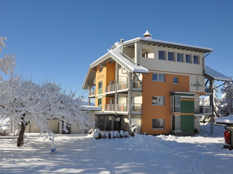 Karglhof Stammhaus im Winter