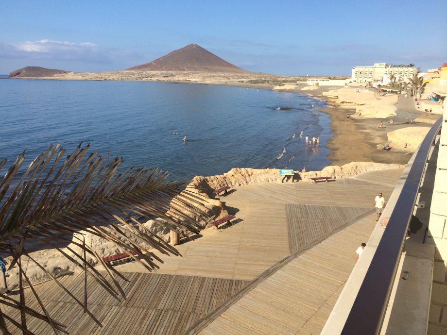 Blick über die Bucht von El Medano