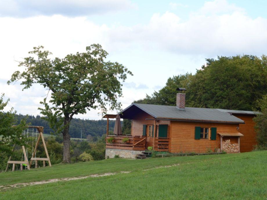 Hütte im Spätsommer 1