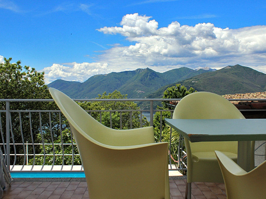 Außenaufnahme Exklusive Ferienwohnung am Lago Maggiore