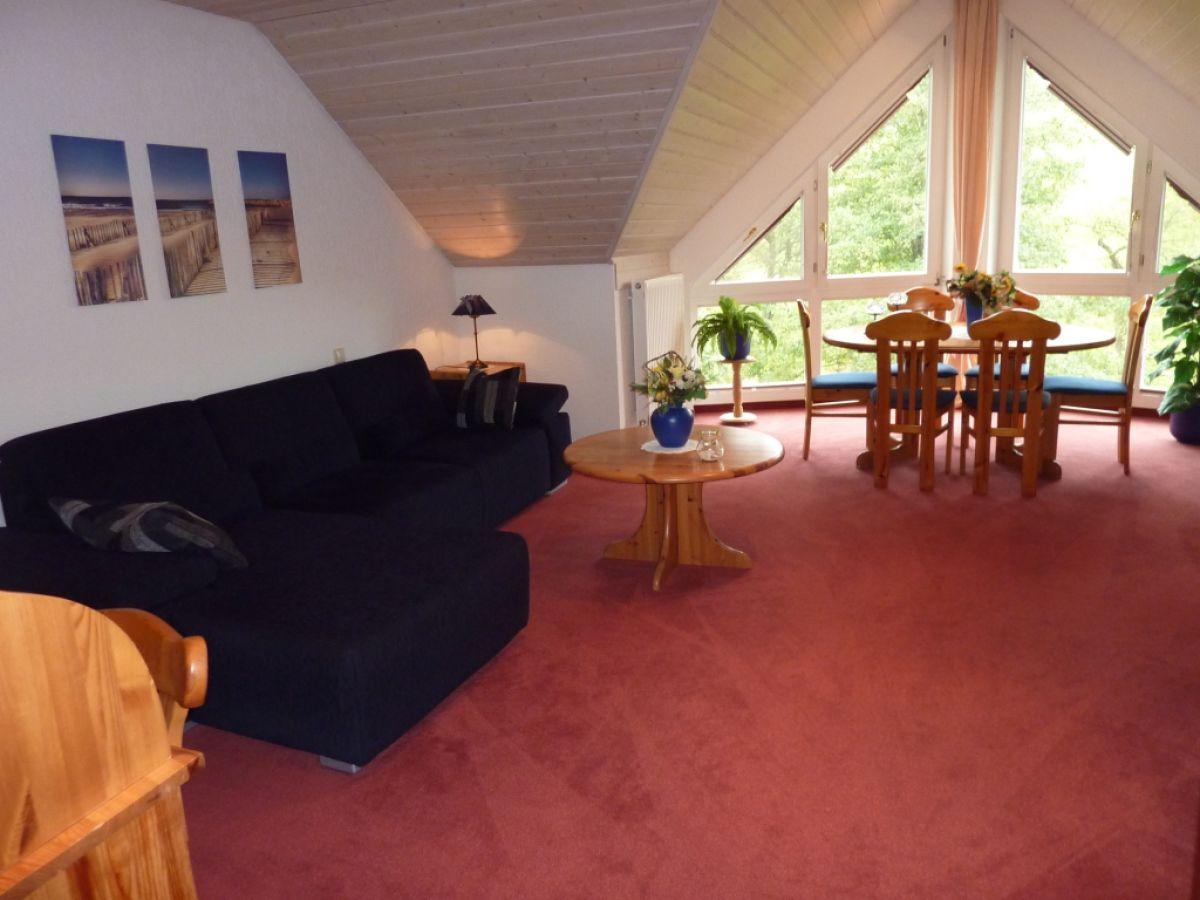 Ferienwohnung haus am weiherholz stockach frau andrea marten scheu - Essecke wohnzimmer ...