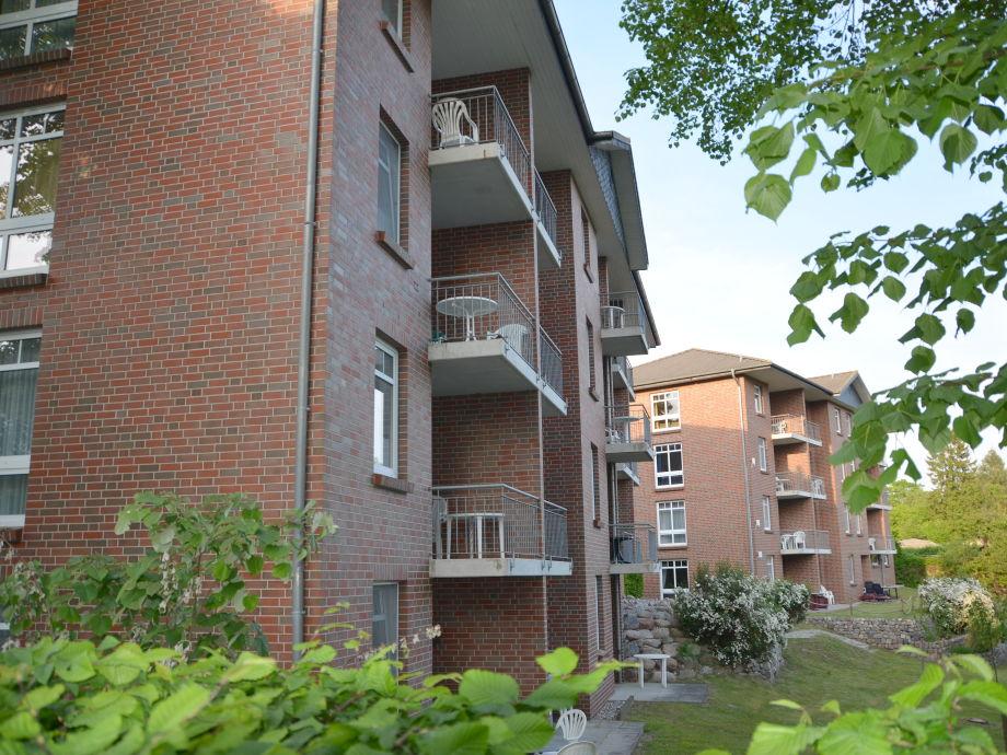 Haus 1 und 2 mit Balkon oder Terrasse