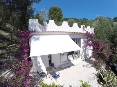 Stylish vacaton home among olives and lemons.