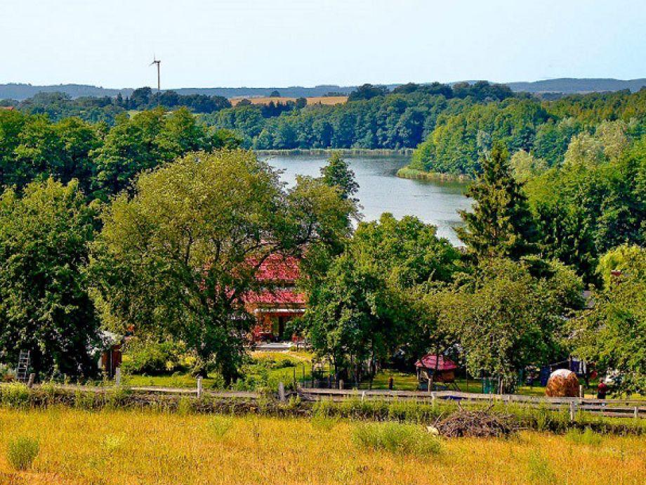 Ferienwohnung in Mecklenburg Blick auf das Haus