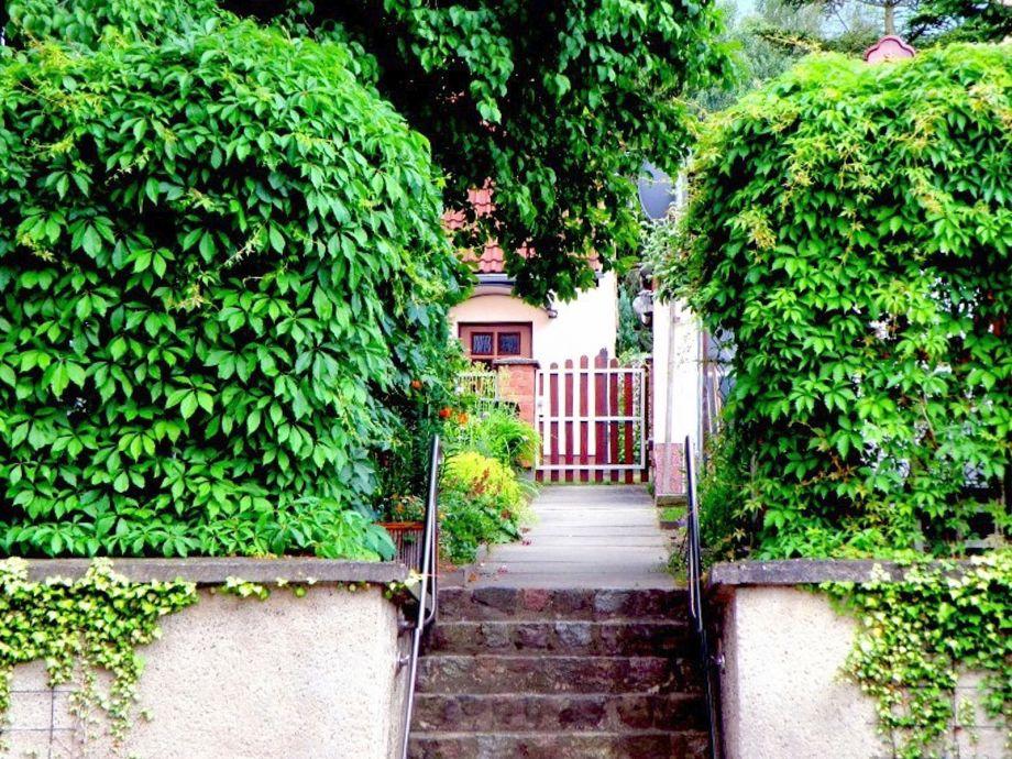 Ferienhaus Eingang