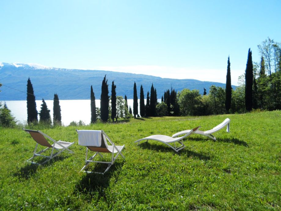 Außenaufnahme Castagneto - Gardasee